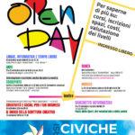 Open Day Corsi e Lezioni Aperte - Scuole Civiche Sesto S.Giovanni